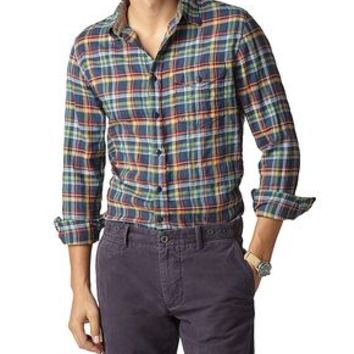 Dockers Wrinkle Twill - Sylvester Plaid - Men's