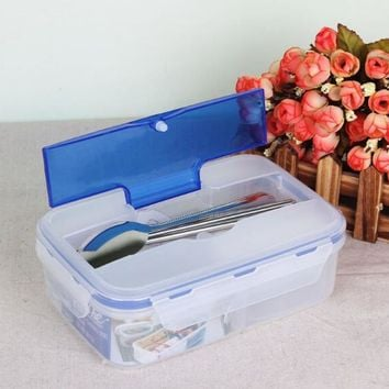 Hot Sale 1000ml Durable Food Container Eco-Friendly Portable Microwave Lunch Bento Box Lunchbox BPA Free
