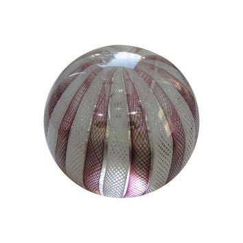 Pre-owned 1970's Murano Hand Blown Paperweight