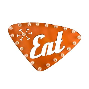 Retro Eat Marquee Sign