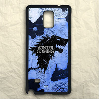 Game Of Thrones Winter Is Coming Samsung Galaxy Note 3 Case