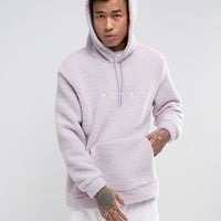 Puma Borg Pullover Hoodie In Lilac Exclusive to ASOS 57658201 at asos.com