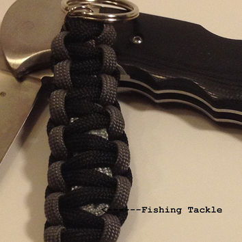 Fishing Tackle Keychain by TeamOTGsurvival on Etsy