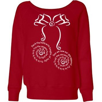 Festive Red Christmas Womens Jumper