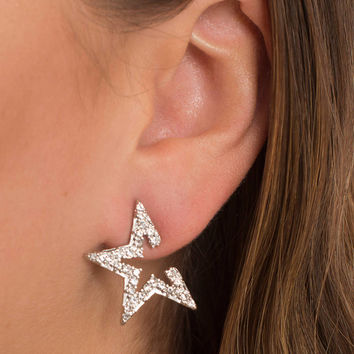 I'm A Stargirl Rhinestone Earrings
