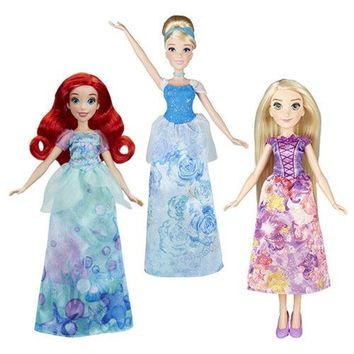 Disney Princess Royal Shimmer Classic Fashion Dolls