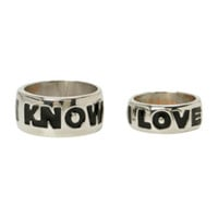 Star Wars I Love You I Know His And Hers Ring Set