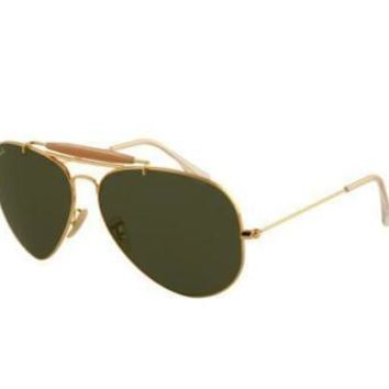 NEW Genuine Ray Ban RB3029 L2112 Gold Mens Womens Sunglasses Glasses