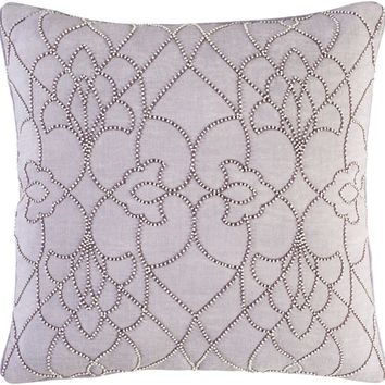 Dotted Pirouette Throw Pillow Purple, Purple
