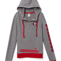 University of Georgia Bling Pullover Hoodie - PINK - Victoria's Secret