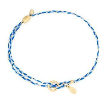 Blue Precious Threads Bracelet