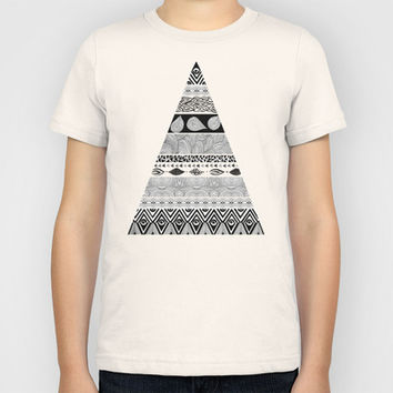 Tribal & Nature Play Kids T-Shirt by Pom Graphic Design