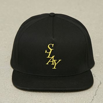 Men Slay Graphic Baseball Cap