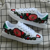Casual Summer Star Floral Korean Shoes [11913466515]