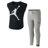 Jordan Oversize Two-Piece Preschool Girls' Set, by Nike