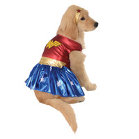 Wonder Woman Dog Halloween Costume at BaxterBoo