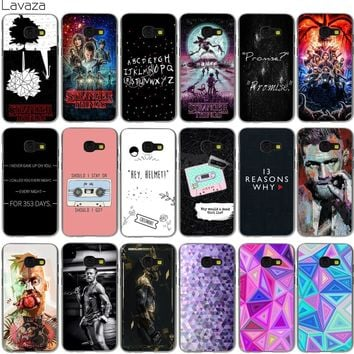 Lavaza Stranger Things 13 Thirteen Reasons Why Conor Mcgregor Case for Samsung Galaxy Note 8 A3 A5 A8 J3 J5 J7 2016 2017 2018