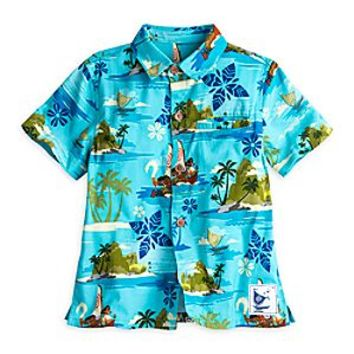 Disney Moana Woven Shirt for Men