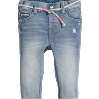 Jeans with Belt - from H&M