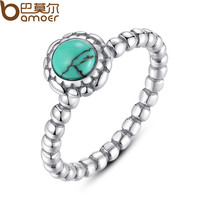 Birthday Blooms Ring, December, Turquoise Ring  Fine 925 Sterling  Compatible with Pandora Jewelry A7162