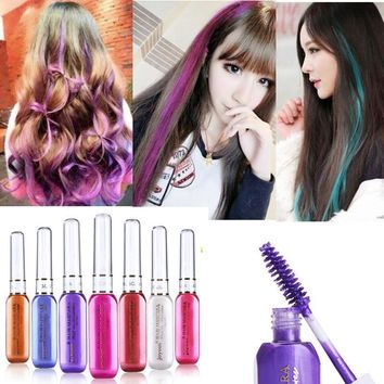 Stylish Non-Toxic Disposable Stick Temporary Hair Dye Cream