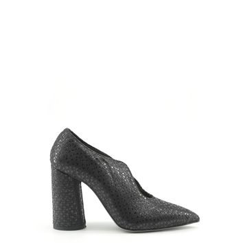 Made In Italia Black Leather Pumps