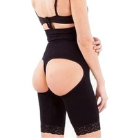 Women's Seamless Butt Lifter Longer Shaper Panties  Waist Body Sculpting Plastic Legs Hip Pants Tummy Control Panties = 1716087620