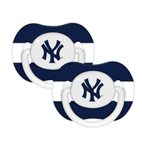 2-Pack Pacifiers - New York Yankees