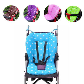 New Thick Colorful Baby Infant Stroller Car Seat Pushchair Cushion