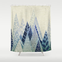 Snow Top Shower Curtain by Rskinner1122