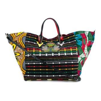 CHRISTIAN LOUBOUTIN | X La Maison Rose Africaba Bag | Womenswear | Browns Fashion