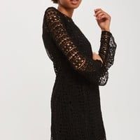 Lace Knitted Dress - Sale - Sale & Offers