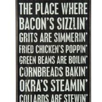 Primatives by Kathy Home Decor Sign A Southern Kitchen