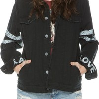 VOLCOM LADY GROUP LOVE DENIM JACKET