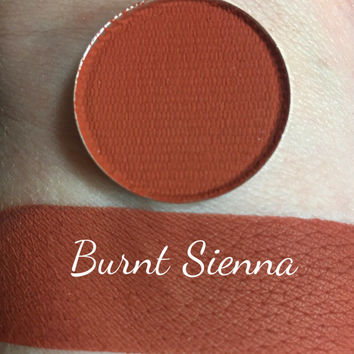 BURNT SIENNA - Matte Pressed Eyeshadow - Brick Red