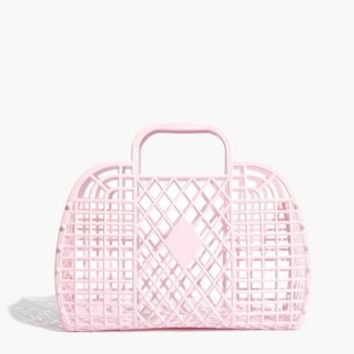 Sun Jellies Retro Basket Tote