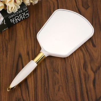 ONETOW Cute Pink Vintage Hand Mirror