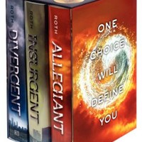 Divergent Series Complete Box Set (Books 1-3) - Free Shipping