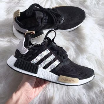Tagre™ Adidas NMD NMD_R1 W Glittering Breathable Running Sports Shoes Sneakers