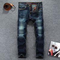 Hot Sale Strong Character Slim Pants Men's Fashion Jeans [6541745155]