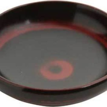 Soy Dish Black and Red