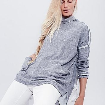 Free People Womens Long Flight Pullover