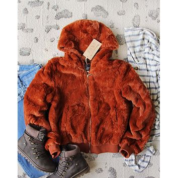 Sienna Sky Fur Coat