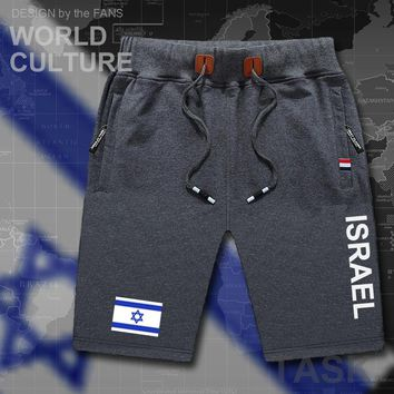 Israel mens shorts workout sweats