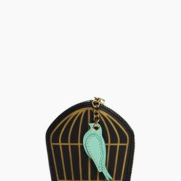 hello shanghai birdcage coin purse - kate spade new york