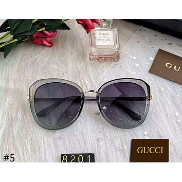 GUCCI 2019 new high-end female models driving polarized sunglasses #5