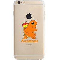 Pokemon Charmander Jelly Clear Case For Apple Iphone 6/6s (4.7-Inch)