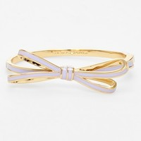 Women's kate spade new york 'tied up' bow hinged bangle