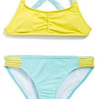 Girl's Billabong 'Sol Searcher - Tali' Two-Piece Swimsuit,