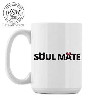 Soul Mate Mouse Ears - Mug